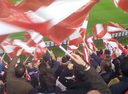 אוהדי אתלטיקו, קהל נאמן (צילום: ספורטור)