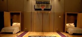סוויטה עם מגרש כדורסל. חלום (צילום: מלון פאלמס)
