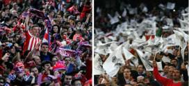 אוהדי ריאל ואתלטיקו. מי יחגוג בגמר ליגת האלופות?