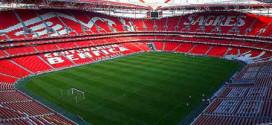 איצטדיון האור בליסבון. אי שם מעבר לקשת (צילום: wikipedia_commons)