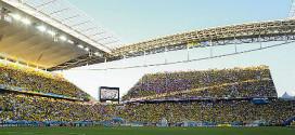 איצטדיון סאו פאולו במשחק הפתיחה (צילום: wikipedia commons)