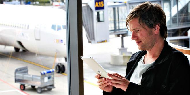 גלישה חינם בשדה התעופה? שירות בסיסי (צילום: osl.no)