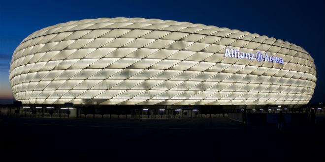 אליאנץ ארנה, מקדש הכדורגל המודרני של מינכן (צילום: Manuel Núñez Salinas_flickr_cc)