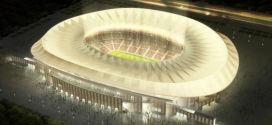 לה פיינטה. האיצטדיון החדש של אתלטיקו מדריד (הדמיה מתוך qruz y ortiz אדריכלים)
