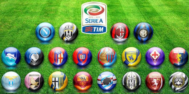 ליגה איטלקית, לוח משחקים לעונת 2015/16