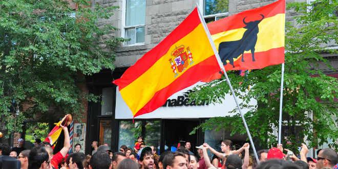 אוהדי ספרד, ניפגש במסגרת מוקדמות המונדיאל (צילום: abdallahh_flickr_cc)
