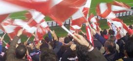 אוהדי אתלטיקו, כדורגל במדריד באווירה מיוחדת (צילום: ספורטור)