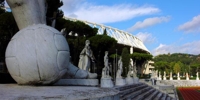 סטדיו אולימפיקו, רומא. חבילת ספורט עם היסטוריה (צילום: bruno-flickr_cc)