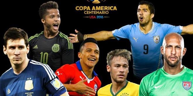 קופה אמריקה 2016, טורניר של פעם במאה (האתר הרשמי)