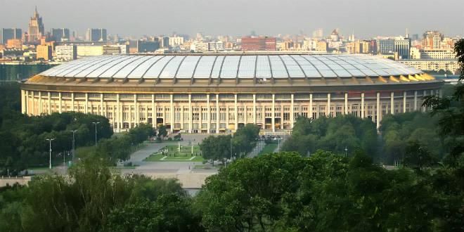 איצטדיון לוז'ניקי. מונדיאל 2022 ישחזר את הצלחת הטורניר? (צילום: Wikimedia commons)