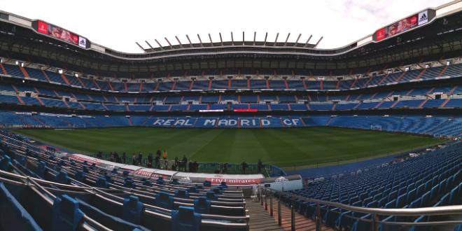 ברנבאו, מדריד. איצטדיון חלומי (צילום: ספורטור)